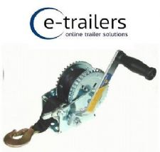 500Kg MAYPOLE QUALITY BOAT TRAILER HANDWINCH 2000LB - MP7975